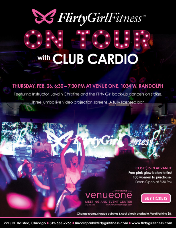 Flirty Girl Fitness On Tour Promo